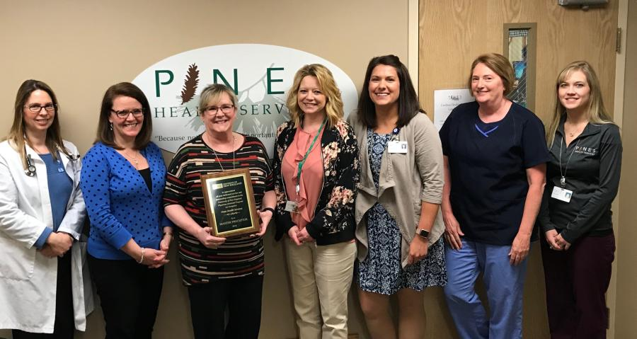 Pines Health Services Named 2018 Master Preceptor By The University Of New England